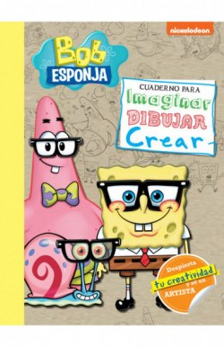 Papel Bob Esponja Cuaderno Para Imaginar Dibujar Crear