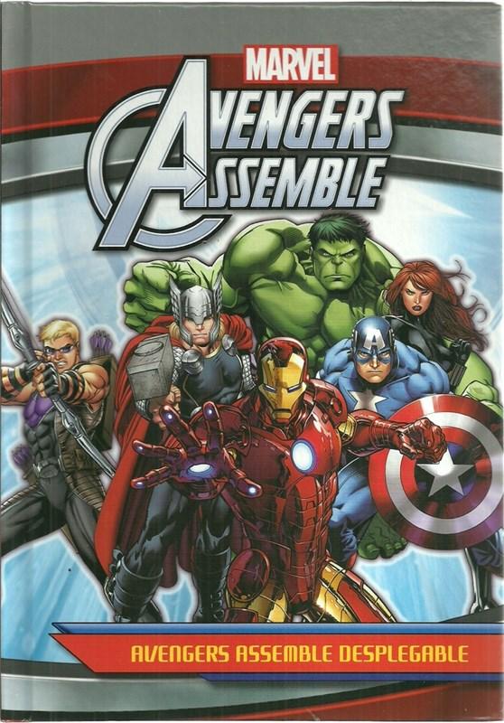Papel Avengers Assemble Desplegable