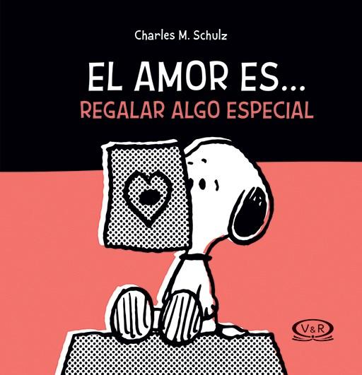 Papel Snoopy - El Amor Es Regalar Algo Especial