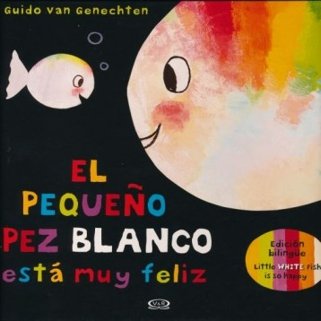 Papel El Pequeño Pez Blanco / Little White Fish Is So Happy
