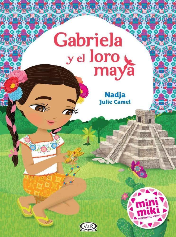 Papel Gabriela Y El Loro Maya