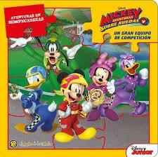 Papel Gran Equipo De Competicion Mickey, El