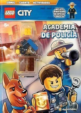 Papel Academia De Policia  Lego City