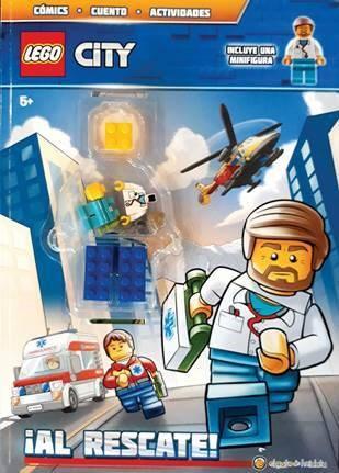 Papel Al Rescate  Lego City