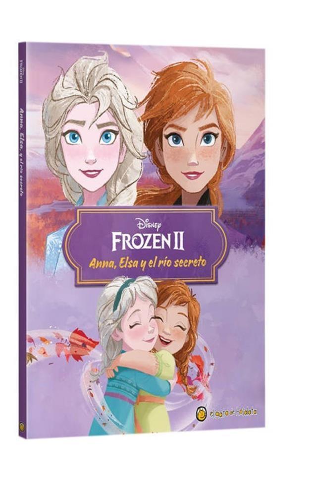 Papel Anna, Elsa Y El Rio Secreto