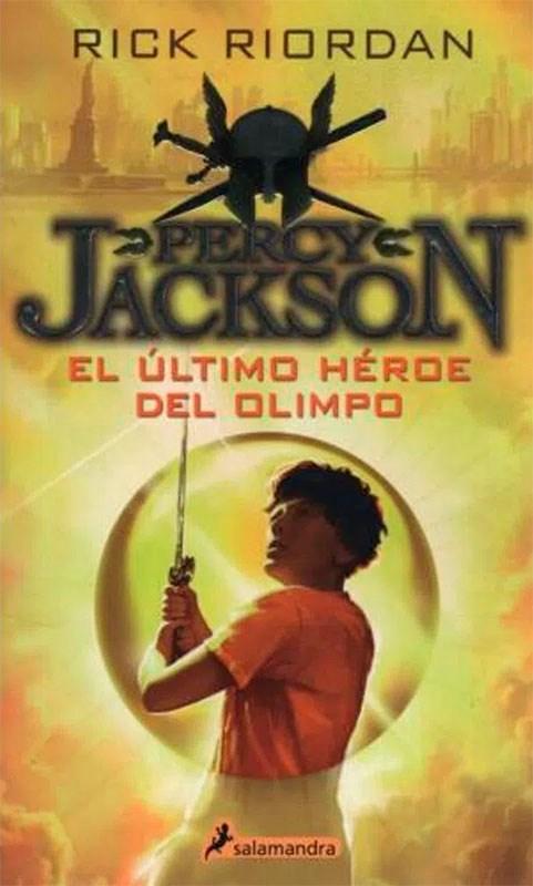 Papel Percy Jackson , El Ultimo Heroe Del Olimpo 5