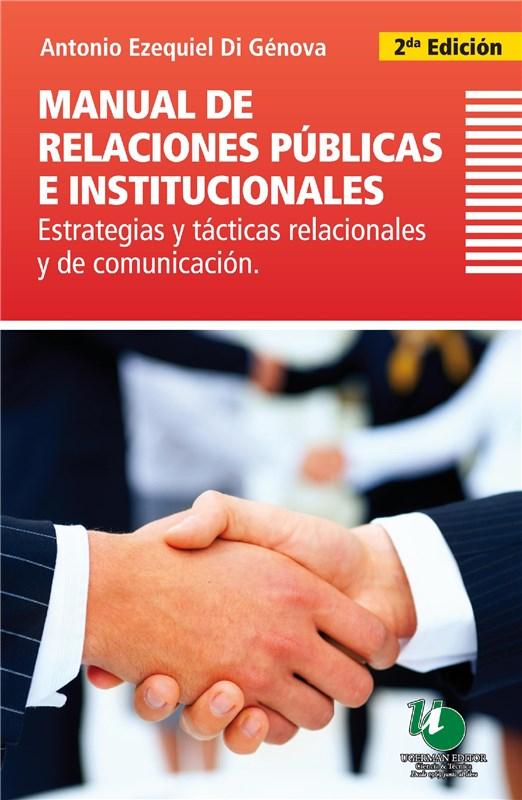 E-book Manual De Relaciones Públicas E Institucionales