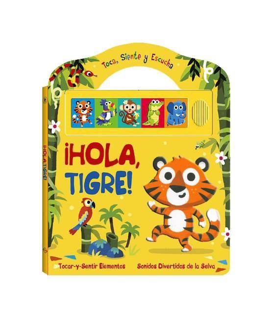 Papel Hola Tigre (Sonido Toca, Siente Y Escucha)