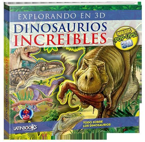 Papel Dinosaurios Increibles -Explorando En 3D