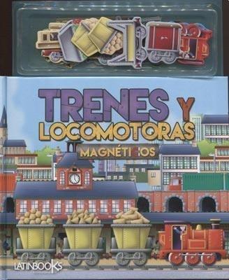 Papel Trenes Y Locomotoras  Magneticos