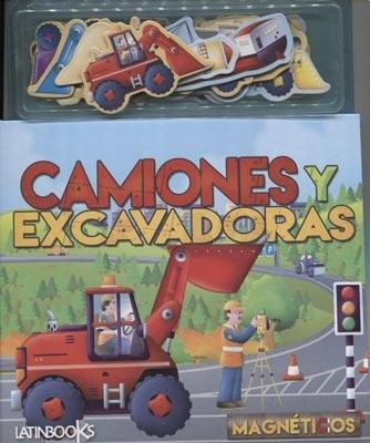 Papel Camiones Y Excavadoras  Magneticos