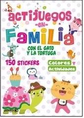 Papel Actijuegos En Familia Gato Y La Tortuga