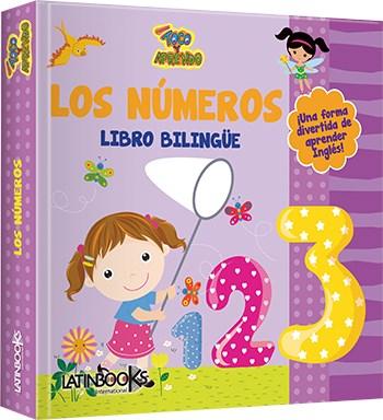 Papel Numeros, Los Bilingue Toco Y Aprendo