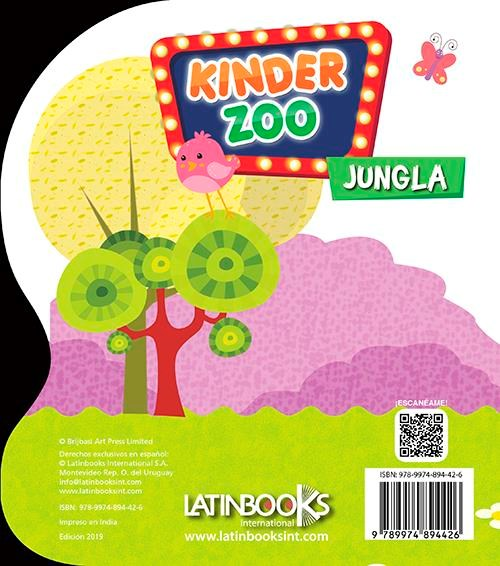 Papel Kinder Zoo Jungla
