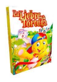 Papel Liebre Y La Tortuga, La Fabu-Pop