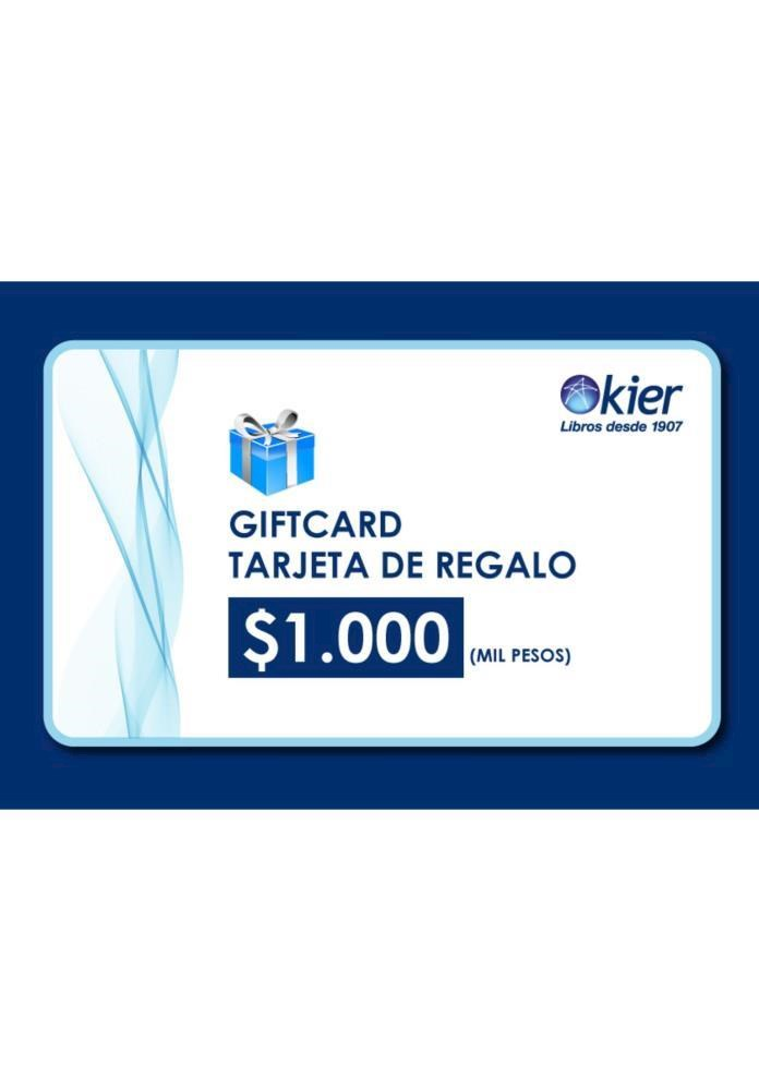 Papel Gift Card 1000