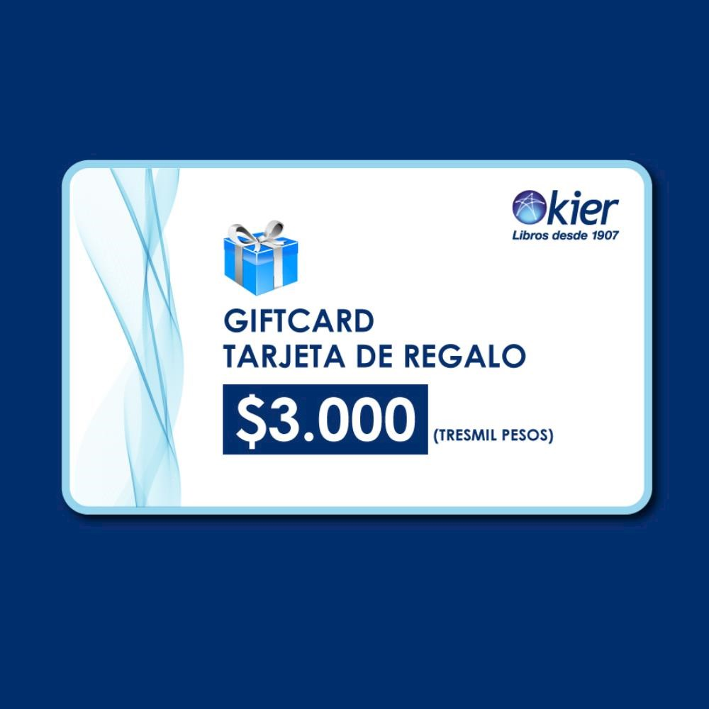 Papel Gift Card 3000