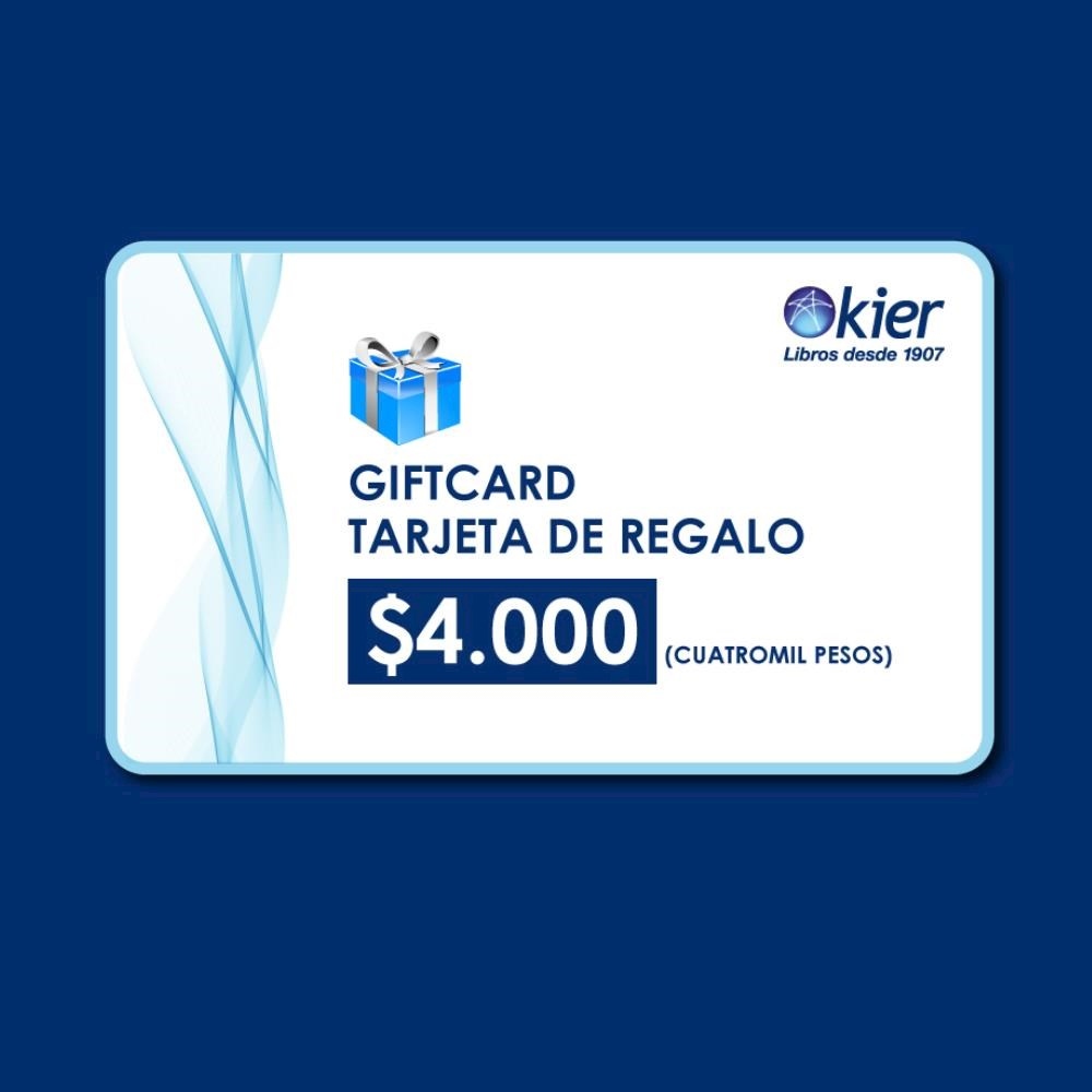 Papel Gift Card 4000