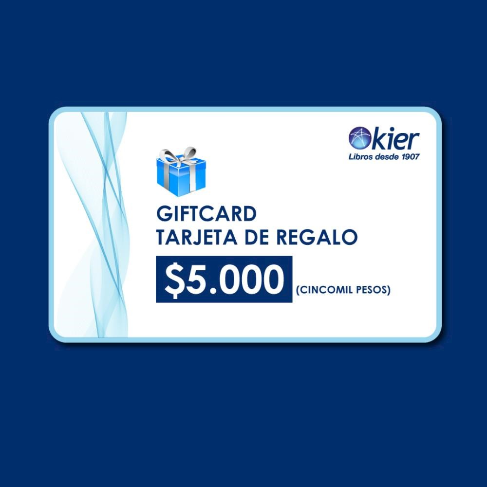 Papel Gift Card 5000