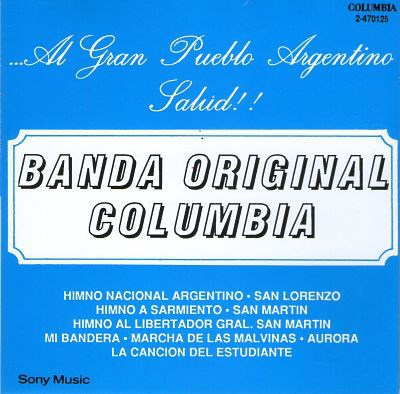 CD MARCHAS Y CANCIONES PATRIAS
