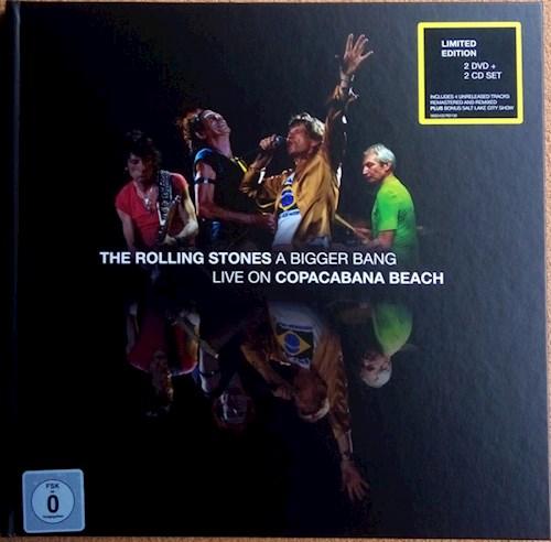 CD + DVD THE ROLLING STONES/A BIGGER BANG LIVE ON COPACABANA BEACH