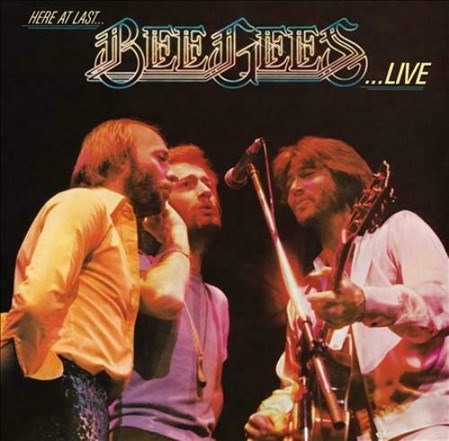 VINILO HERE AT LAST BEE GEES LIVE