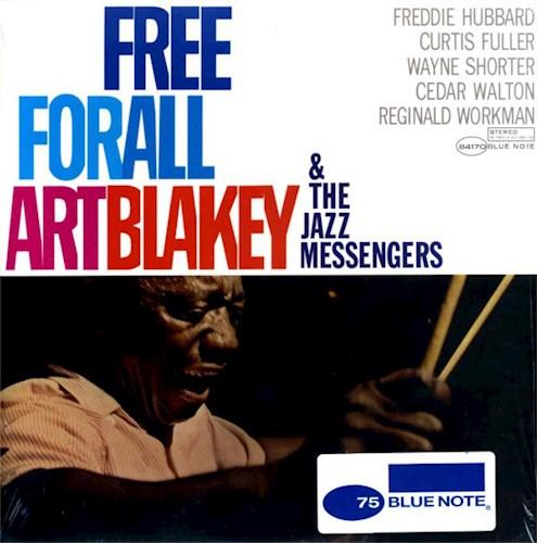 VINILO BLAKEY ART/FREE FOR ALL