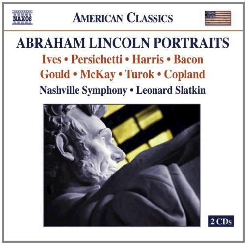 CD ABRAHAM LINCOLN PORTRAITS/SLATKIN