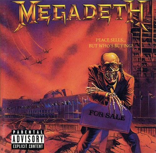 CD MEGADETH/PEACE SELLS    BUT WHO S BUYING