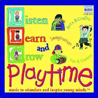 CD LISTEN LEARN GROW PLAYTIME/VS