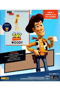 Papel Incredibuilds - Woddy - Toy Story