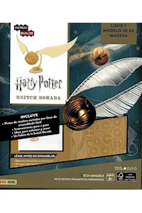 Papel Incredibuilds - Snitch Dorada - Harry Potter
