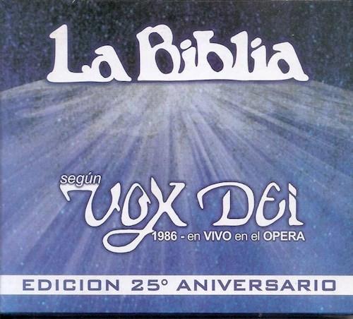 CD LA BIBLIA 25 ANIVERSARIO