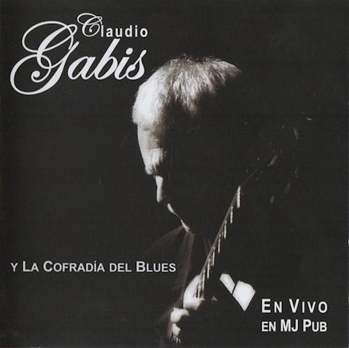CD GABIS CLAUDIO/EN VIVO EN MJ PUB