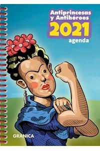 Papel Antiprincesas 2021 Agenda Anillada