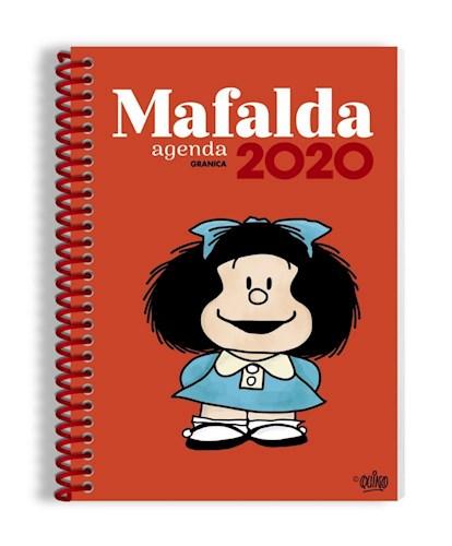 AGENDA MAFALDA 2020 ANILLADA ROJO