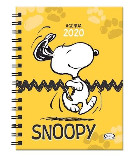 AGENDA SNOOPY 2020 AMARILLA