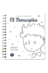 Papel Agenda El Principito 2021 (Blanca)