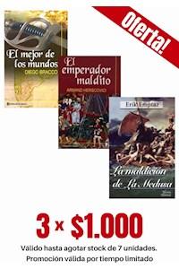 Papel Pack 3 Libros: Novela Histórica Ateneo