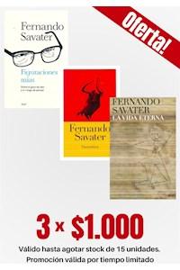 Papel Pack 3 Libros: Fernando Savater