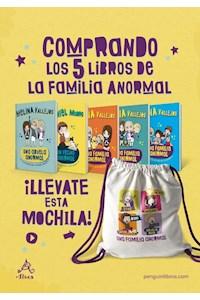 Papel Pack 5 Libros: Una Familia Anormal