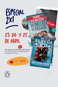 Papel Pack 2 Libros Especial Mes Del Libro: Daniel Balmaceda