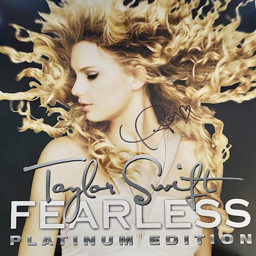 VINILO SWIFT TAYLOR/FEARLESS PLATINUM EDITION