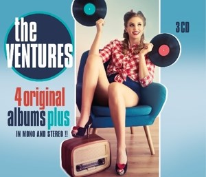 CD 4 ORIGINAL ALBUMS PLUS
