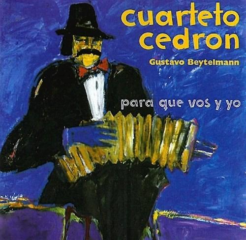 CD VEREDAS DE BUENOS AIRES PARA QUE VOS Y YO