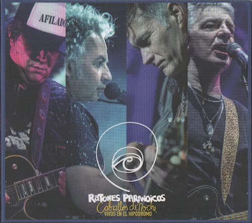 CD + DVD CABALLOS DE NOCHE VIVO EN EL HIPODROMO