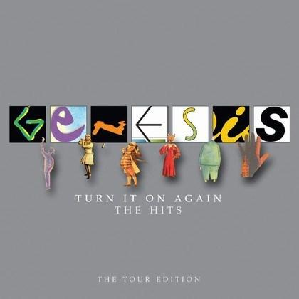 CD GENESIS/TURN IT ON AGAIN-TEH HITS