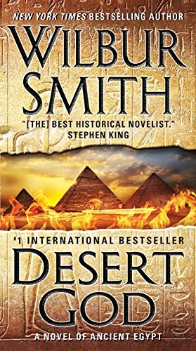 Papel Desert God: A Novel Of Ancient Egypt