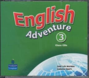 Papel English Adventure 3 Intensive Class Cd