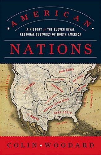 Papel American Nations: A History of the Eleven Rival Regional Cultures of North America